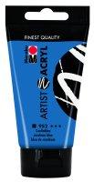 Marabu Artist Acryl, Coelinblau 952, 75 ml