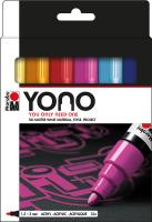 Marabu YONO Acryl-Marker Advanced Set, 12 x 1,5-3 mm