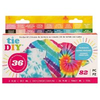 American Crafts • Tie DIY Value kit 18 colors