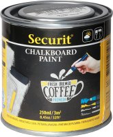 Securit® Acryl-Tafellack-Farbe schwarz 250ml