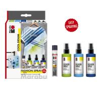 """Marabu Fashion Spray Trend-Set """"Cool Denim"""", 3..."""