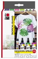 "Marabu Fashion Spray Trend-Set ""Tropical..."