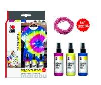 "Marabu Fashion Spray Trend-Set ""Tie Dye Style"",..."