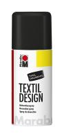 Marabu Textil Design, Tafel Schwarz 875, 150 ml