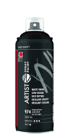 Marabu Artist Spray Paint, Lampenschwarz 974, 400 ml