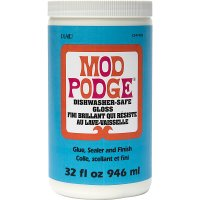 Mod Podge • Dishwasher safe gloss 946ml
