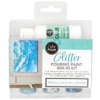 Color Pour • Glitter mix tidal