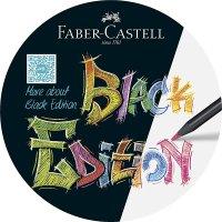 Faber Castell Buntstift Black Edition, sortiert, 24er Etui