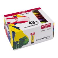Amsterdam Standard Series Acryl Allgemeine Auswahl Set 48...