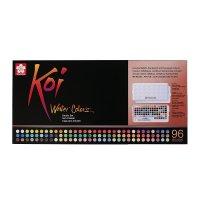 Koi Water Colors Sketchbox 96 + Waterbrush