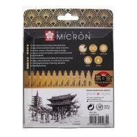Sakura Pigma Micron B&G 10er-Set + 2 gratis