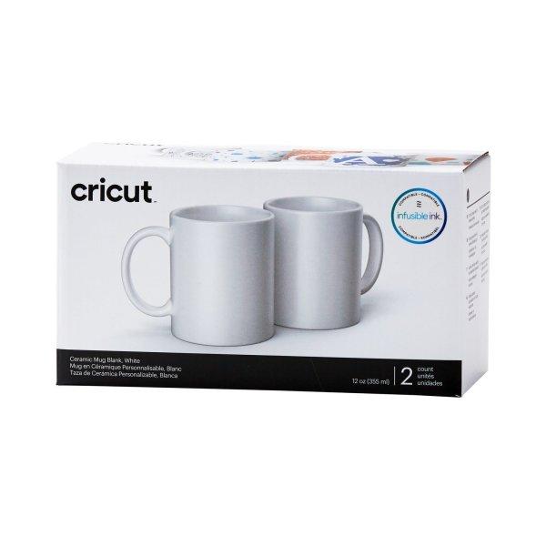 Cricut • Becher 355ml 2Stück Weiß