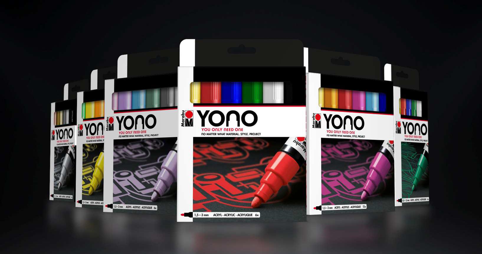 YONO Acrylmarker von MARABU
